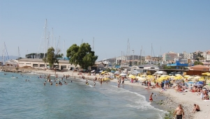 Градският плаж на Кушадасъ